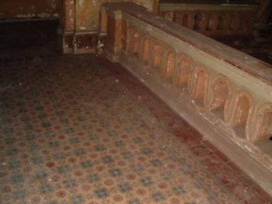 Pałac w krowiarkach - korytarz 2