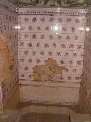 Pałac w krowiarkach - łazienka 2