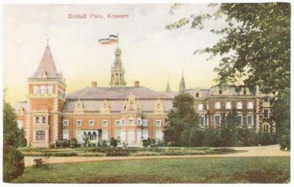 Pałac w krowiarkach 1908