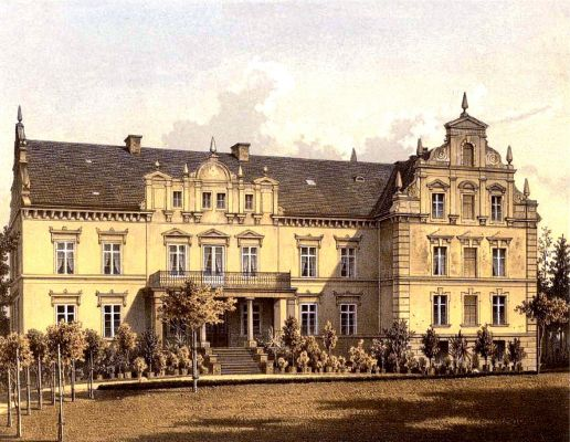 Schloss Kniegnitz Sammlung Duncker