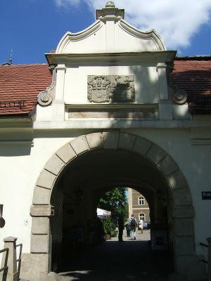Pałac w Pszczynie - Brama Wybrańców