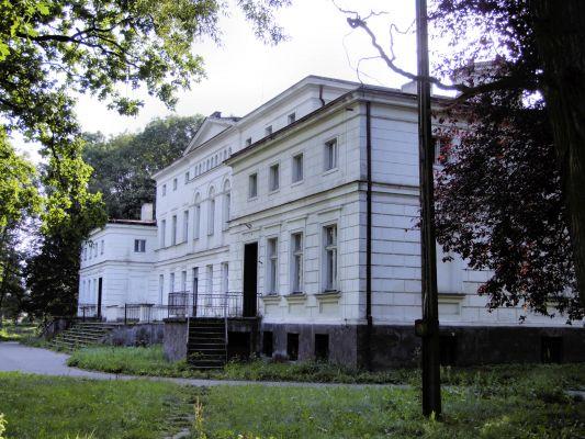 2008 08060189 - Rakoniewice - zespół pałacowy - pałac z 1830 r