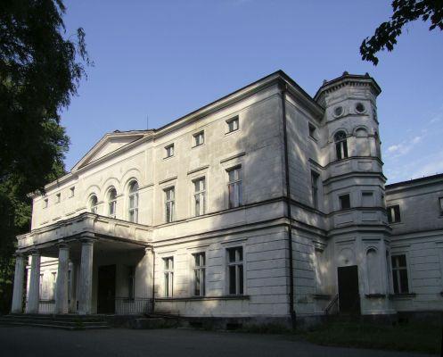 2008 08060214 - Rakoniewice - zespół pałacowy - pałac z 1830 r