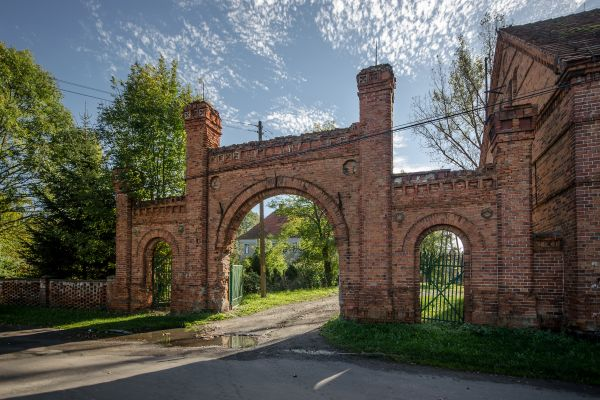 SM Ręszów pałac brama (0) ID 595811
