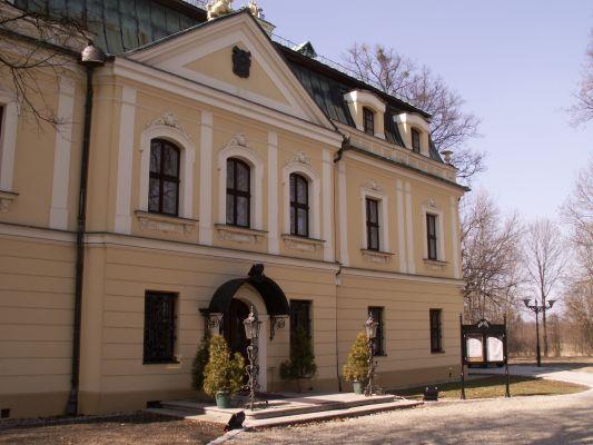 Pałac w Rybnej - 2011r.