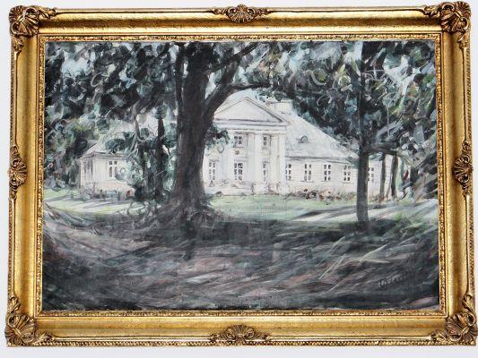 160313 Palace in Sochaczew Czerwonka - 16