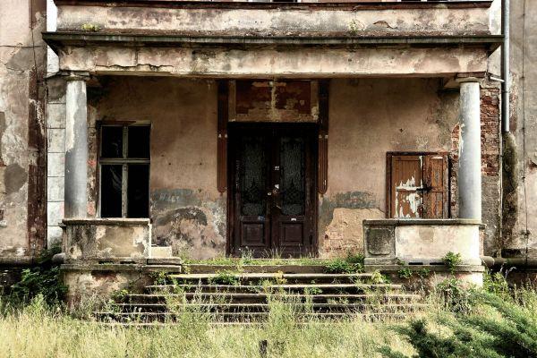 Świnino -- Wejście do pałacu (zetem)