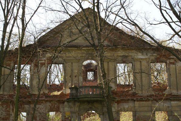 9962viki Ruiny pałacu w Zaborowie. Foto Barbara Maliszewska