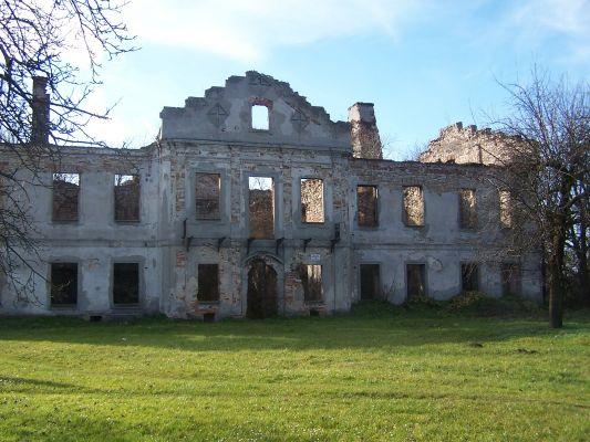 Pałac Włodowice fasada