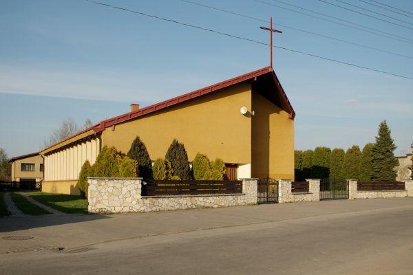 Tarnowskie Góry Pniowiec jagodowa Kościół Matki Boskiej Królowej Wszechświata DSC 6392
