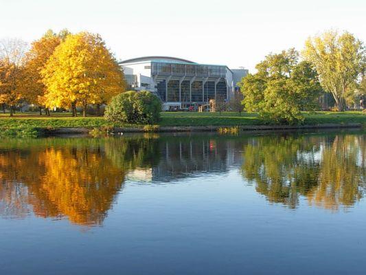 Brda widok park centralny jesień 2