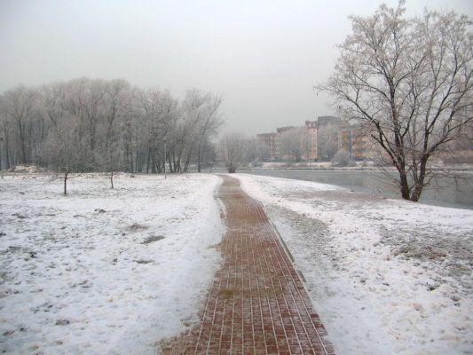 Brda widok park centralny zima 8