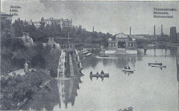 Park Helenow Lodz stare