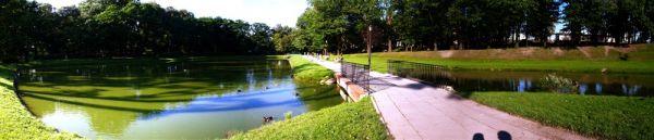Park Helenów panorama Łódź