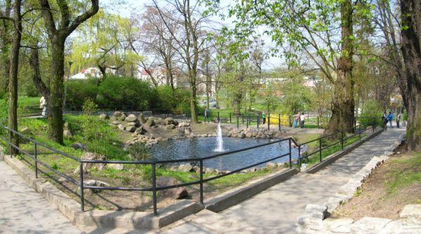Park Henryka Dabrowskiego schody