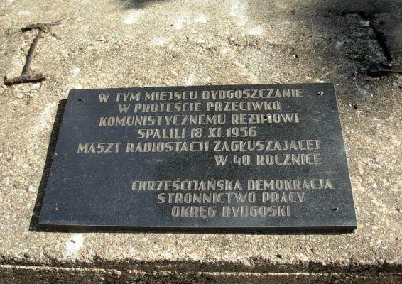 Park Henryka Dabrowskiego tablica