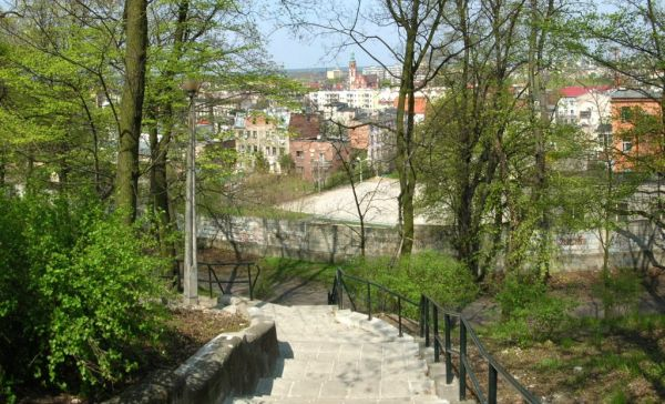 Park Henryka Dabrowskiego widok 1