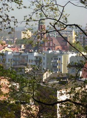 Park Henryka Dabrowskiego widok 2
