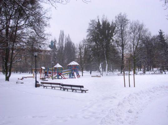 Park Kochanowskiego - zima 2010