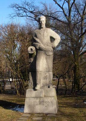 Pomnik Henryk Sienkiewicz Bydgoszcz