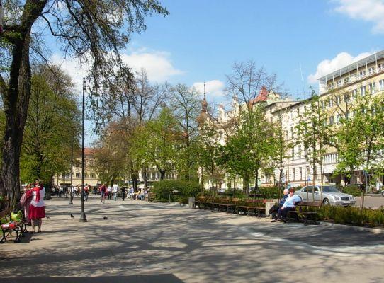 Park Kazimierza Wielkiego aleja