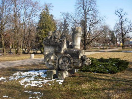 Park Ludowy rzeźba