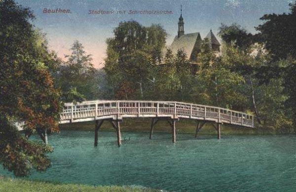 Park miejski w Bytomiu