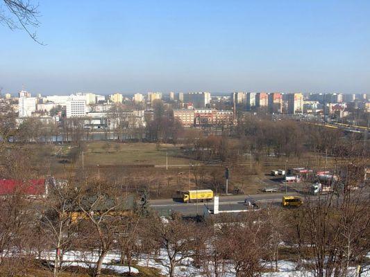 Park na Wzgórzu Wolności panorama 3