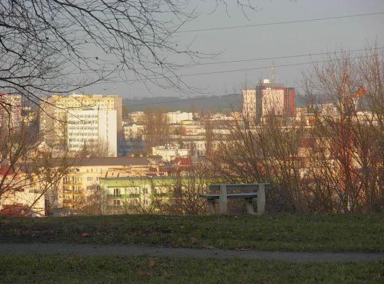 Park na Wzgórzu Wolności widok 1