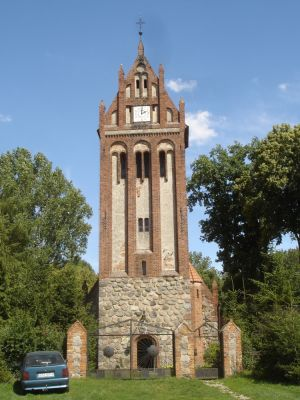 Pęzino, gm. Stargard kościół