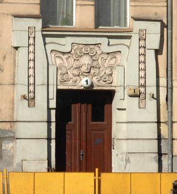 Plac Weyssenhoffa 1 - portal