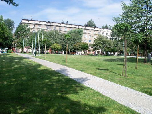 Katowice - plac Miast Partnerskich (2)