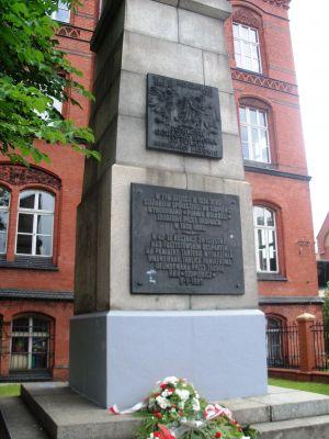Katowice Szopienice - Powstańców Śląskich Square - monument of Freedom (1)