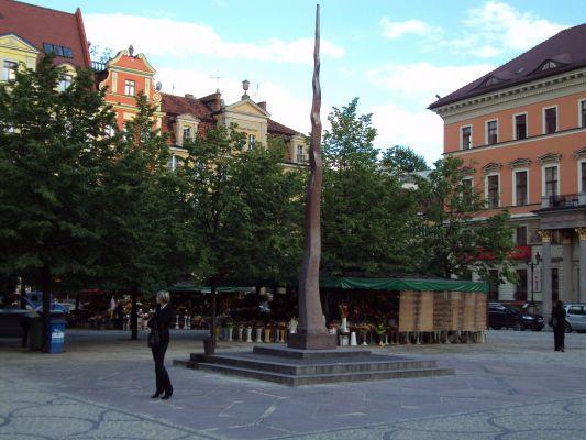 Wrocław - Mała iglica na Placu Solnym