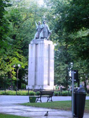 Katowice - Freedom Square - Monument