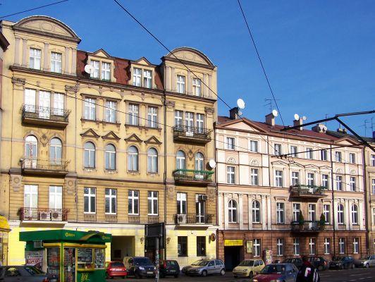 Katowice - Kamienice przy Pl. Wolności 01