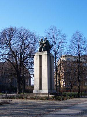 Katowice - Pomnik żołnierzy radzieckich 01