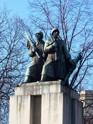 Katowice - Pomnik żołnierzy radzieckich 02