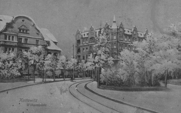 Kattowitz - Wilhelmsplatz 2