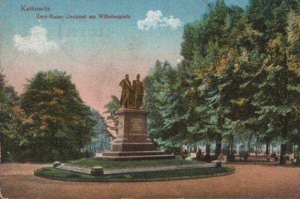 Kattowitz - Zwei Kaiser