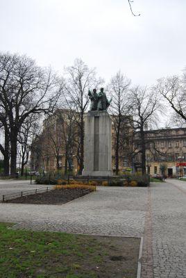 Plac Wolności w Katowicach.