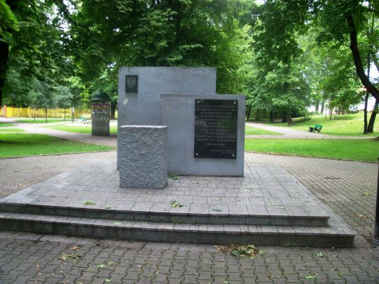 Katowice - Monument in Dąbrówka