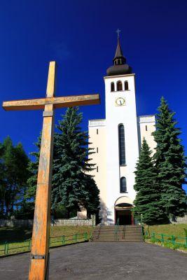 Kościół parafialny p.w. Nawiedzenia NMP w Połomii