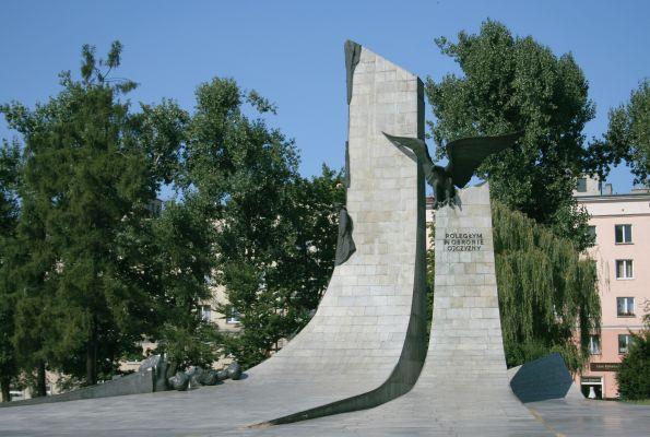 Częstochowa pomnik Poległym w obronie ojczyzny 19.08.09 p