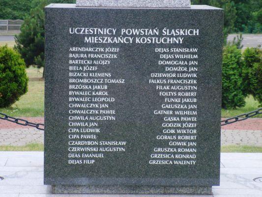 Katowice Kostuchna - pomnik Powstańców (4)