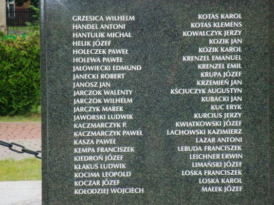 Katowice Kostuchna - pomnik Powstańców (5)