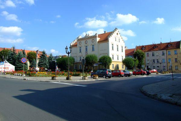 Rynek w Pyskowicach2