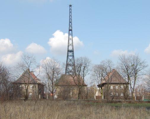 Gliwice Radiostacja od ul. Tarnogorskiej