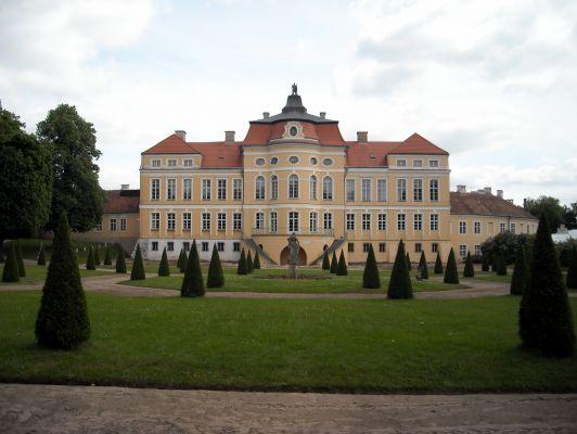 Pałac w Rogalinie, elewacja ogrodowa.