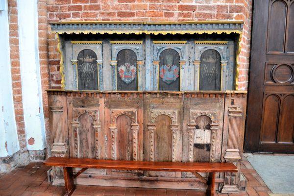Kamien Pomorski katedra stalle